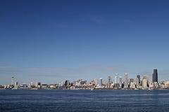 Paesaggio urbano di Seattle Fotografia Stock Libera da Diritti