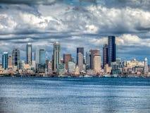 paesaggio urbano di Seattle Fotografie Stock