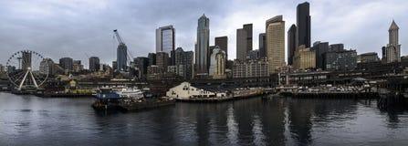 paesaggio urbano di Seattle Immagini Stock Libere da Diritti