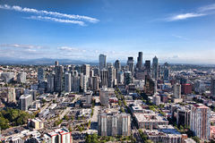 paesaggio urbano di Seattle Fotografia Stock