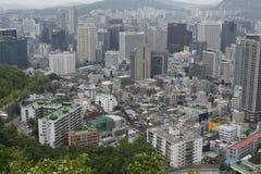 Paesaggio urbano di Seoul Immagine Stock