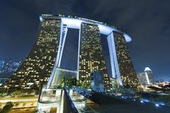 Paesaggio urbano di Singapore Fotografie Stock