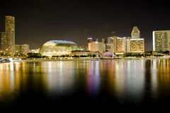 Paesaggio urbano di Singapore Immagine Stock Libera da Diritti