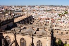 Paesaggio urbano di Siviglia Fotografia Stock Libera da Diritti