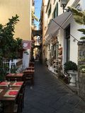 Paesaggio urbano di paesaggio di Sorrento, Italia Immagine Stock