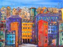 Paesaggio urbano di St Petersburg Fotografia Stock Libera da Diritti