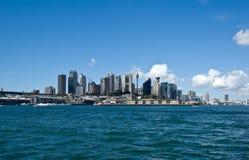 Paesaggio urbano di Sydney Fotografie Stock Libere da Diritti