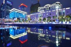 Paesaggio urbano di Taipeh Immagine Stock