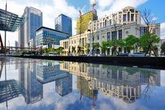 Paesaggio urbano di Taiwan fotografie stock libere da diritti
