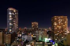 Paesaggio urbano di Tokyo Immagini Stock