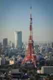 Paesaggio urbano di Tokyo, Giappone Immagini Stock