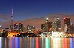 Paesaggio urbano di Toronto Fotografia Stock