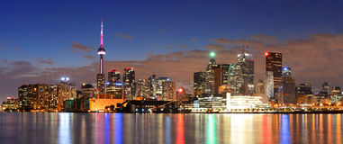 Paesaggio urbano di Toronto Immagini Stock Libere da Diritti