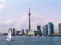 Paesaggio urbano di Toronto Immagine Stock