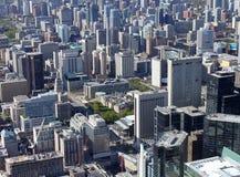 Paesaggio urbano di Toronto Immagini Stock