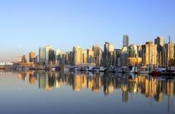 Paesaggio urbano di Vancouver Immagine Stock
