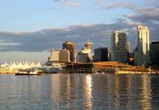 Paesaggio urbano di Vancouver Fotografia Stock Libera da Diritti