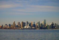 Paesaggio urbano di Vancouver Canada Fotografia Stock