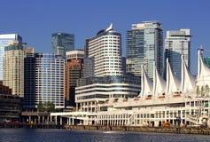 Paesaggio urbano di Vancouver Canada Fotografia Stock Libera da Diritti