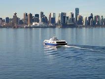 Paesaggio urbano di Vancouver Canada. Fotografie Stock