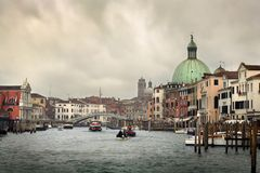 Paesaggio urbano di Venezia Fotografia Stock
