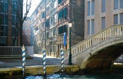 Paesaggio urbano di Venezia Fotografia Stock Libera da Diritti
