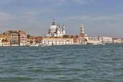 Paesaggio urbano di Venezia, laguna del fron di vista L'Italia Fotografia Stock