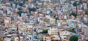 Paesaggio urbano di Vijayawada Fotografie Stock Libere da Diritti