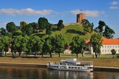 Paesaggio urbano di Vilnius Immagini Stock Libere da Diritti