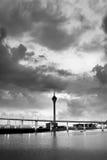 Paesaggio urbano drammatico immagini stock libere da diritti