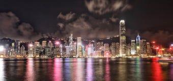 Paesaggio urbano a Hong Kong fotografia stock