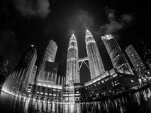 Paesaggio urbano Malesia Fotografia Stock Libera da Diritti