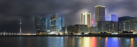 Paesaggio urbano panoramico fotografia stock