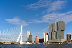 Paesaggio urbano Rotterdam fotografia stock