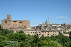 Paesaggio urbano (Siena) Fotografia Stock Libera da Diritti
