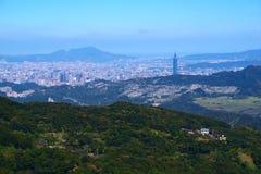 Paesaggio urbano a Taipeh Fotografie Stock