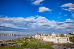 Paesaggio urbano Tatarstan Russia di Kazan Immagine Stock Libera da Diritti