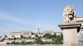 Paesaggio urbano Ungheria di Budapest video d archivio