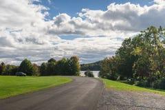 Paesaggio variopinto di autunno Fotografie Stock Libere da Diritti