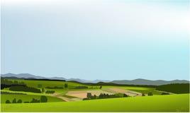 Paesaggio verde Immagini Stock Libere da Diritti