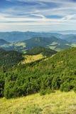 Paesaggio verde delle montagne Fotografia Stock Libera da Diritti
