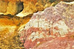 Paesaggio verniciato immagine stock
