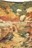 Paesaggio verniciato fotografia stock libera da diritti