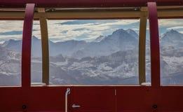 Paesaggio VI delle alpi di Bernese Fotografie Stock