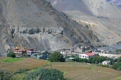 Paesaggio vicino al mustang, Kathmandu immagini stock libere da diritti