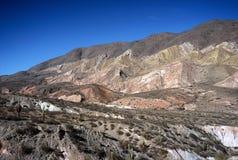 Paesaggio vicino a Cachi, Salta, Argentina Immagini Stock Libere da Diritti