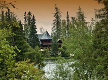 Paesaggio vicino dalla montagna Hight tatry immagini stock libere da diritti