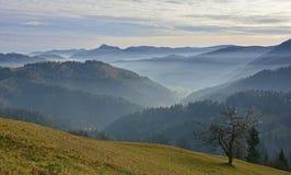 Paesaggio vicino a Jamnik Immagini Stock Libere da Diritti