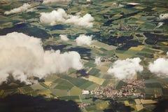 Paesaggio vicino a Monaco di Baviera bavaria germany fotografie stock