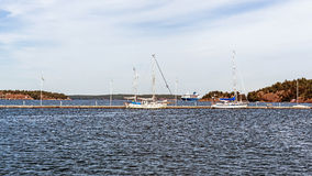 Paesaggio vicino a Nynashamn Immagini Stock Libere da Diritti